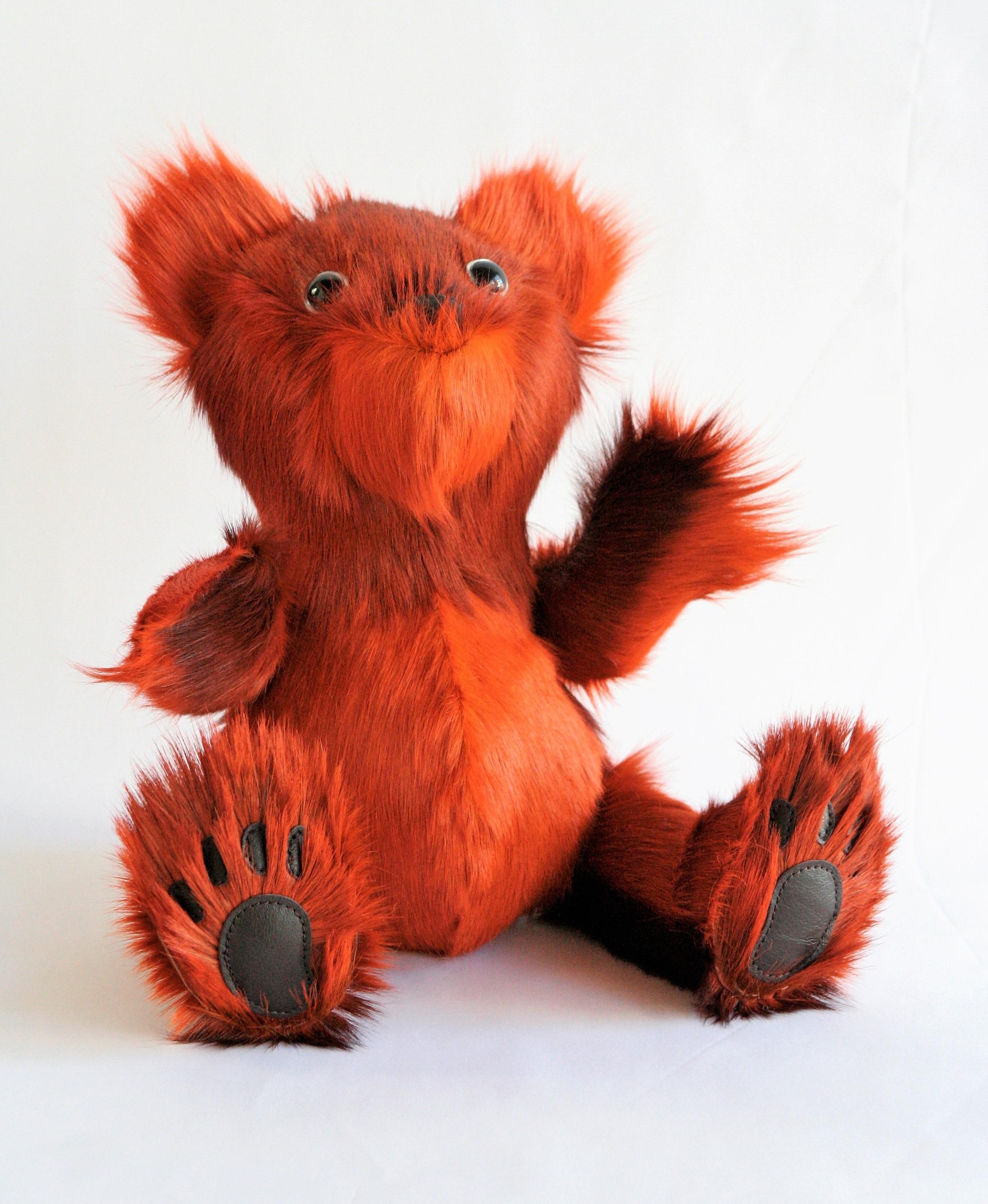 Orange Springbok Teddy Bear