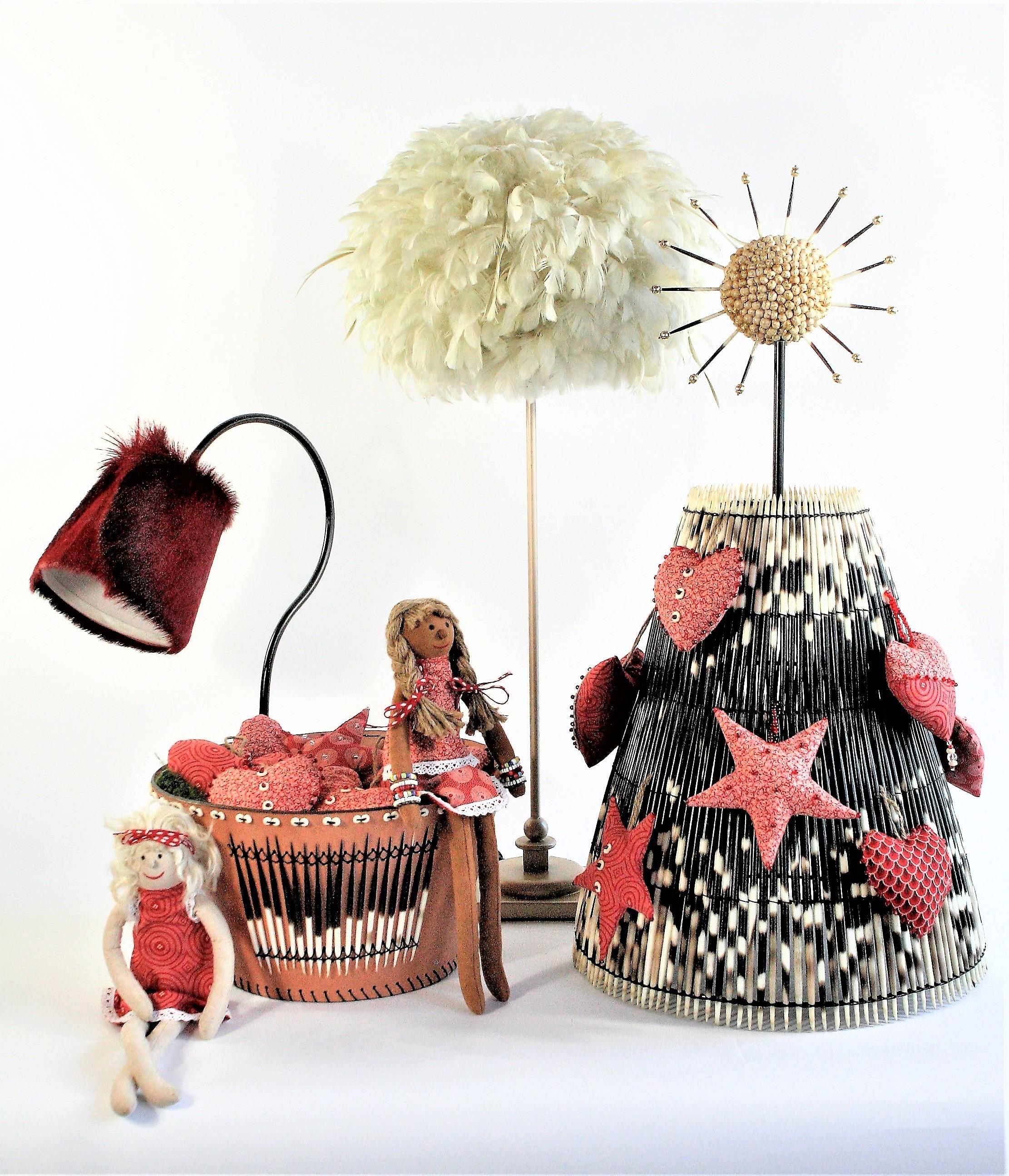 Shweshwe Christmas tree collection