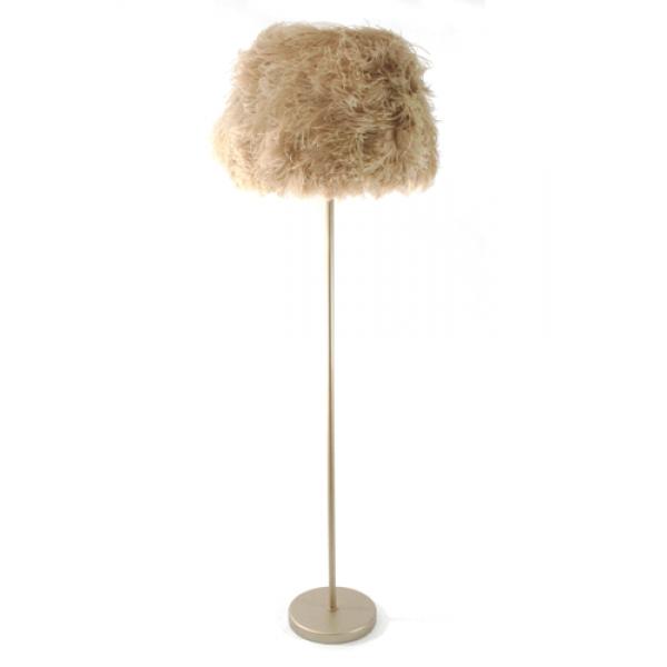 Beige Ostrich floor lamp