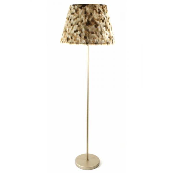 Wild African goose floor lamp