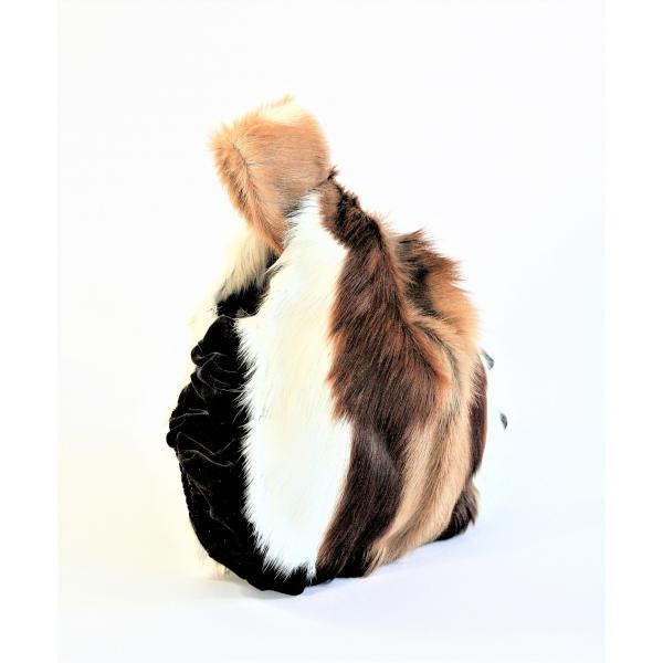 Springbok & Velvet wrist bag