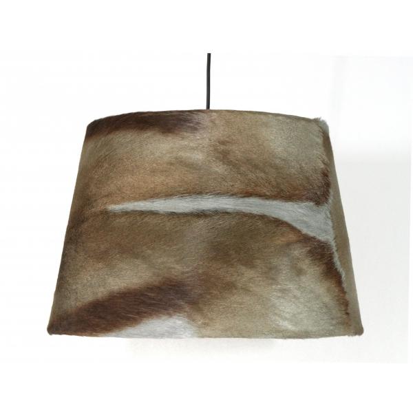 Grey Springbok pendant shade