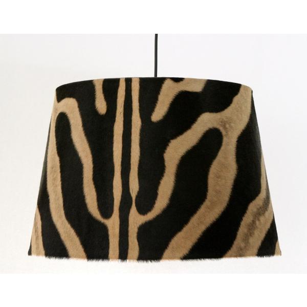 Zebra pendant shade